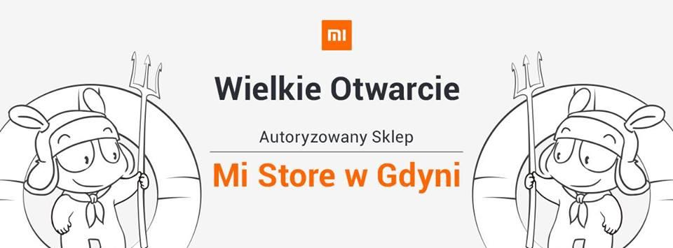 Już w sobotę Xiaomi otwiera sklep Mi Store w Gdyni. Będą prezenty dla gości i dobre promocje! 24