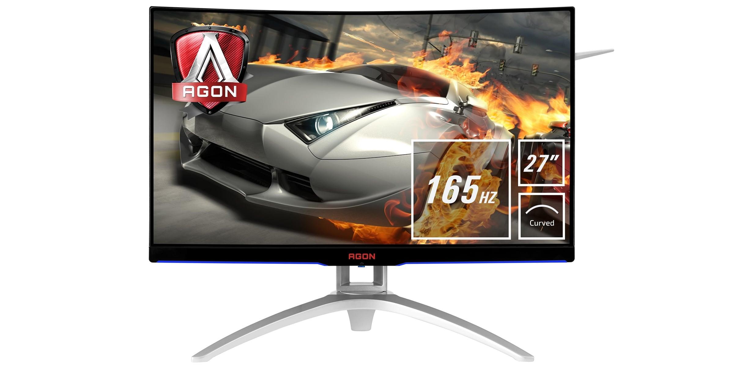 AOC AG272FCX6 - zakrzywiony monitor dla graczy z 27-calową matrycą i wsparciem dla AMD FreeSync 21