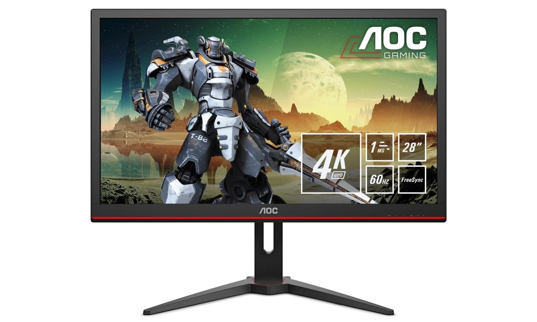AOC G2868PQU to przystępny cenowo monitor 4K HDR Ready dla graczy 22