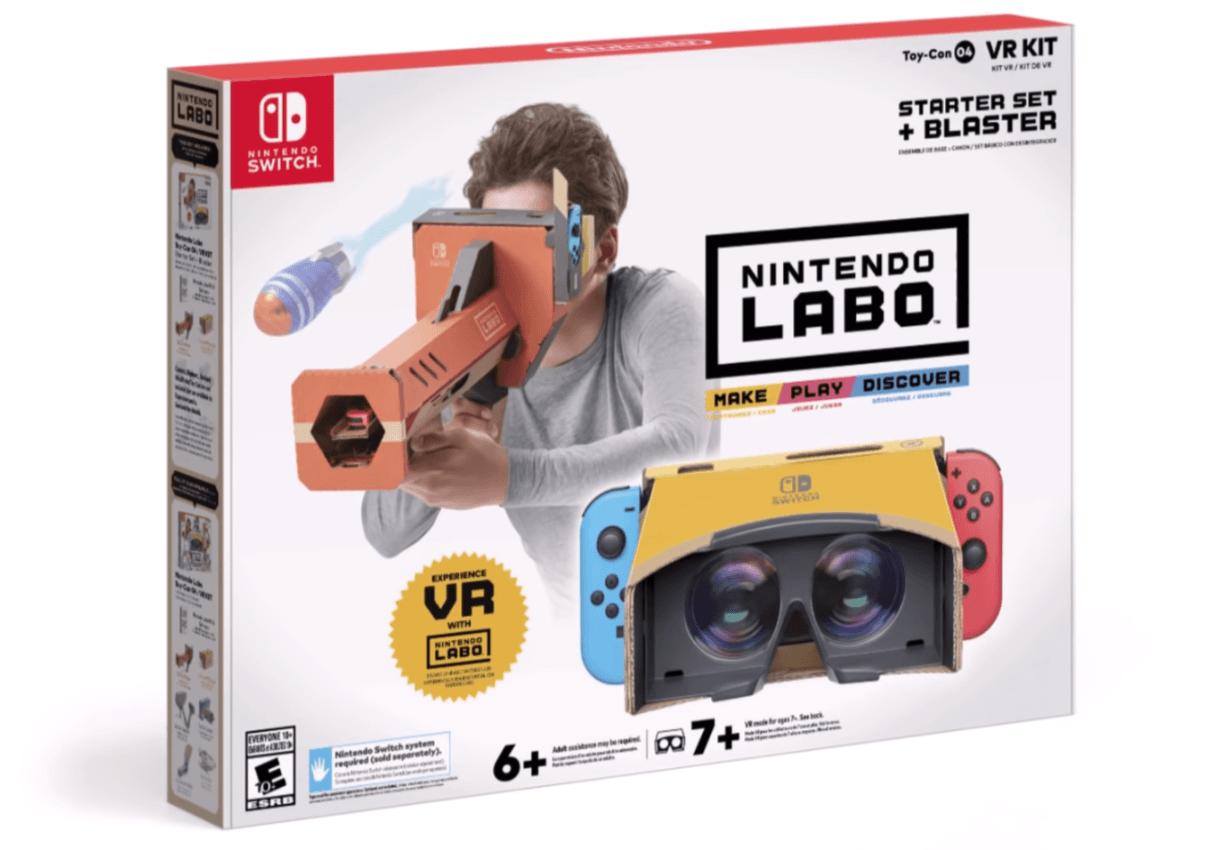 Nintendo wkracza w wirtualną rzeczywistość za sprawą Labo VR Kit. To godny konkurent Google Cardboard 18