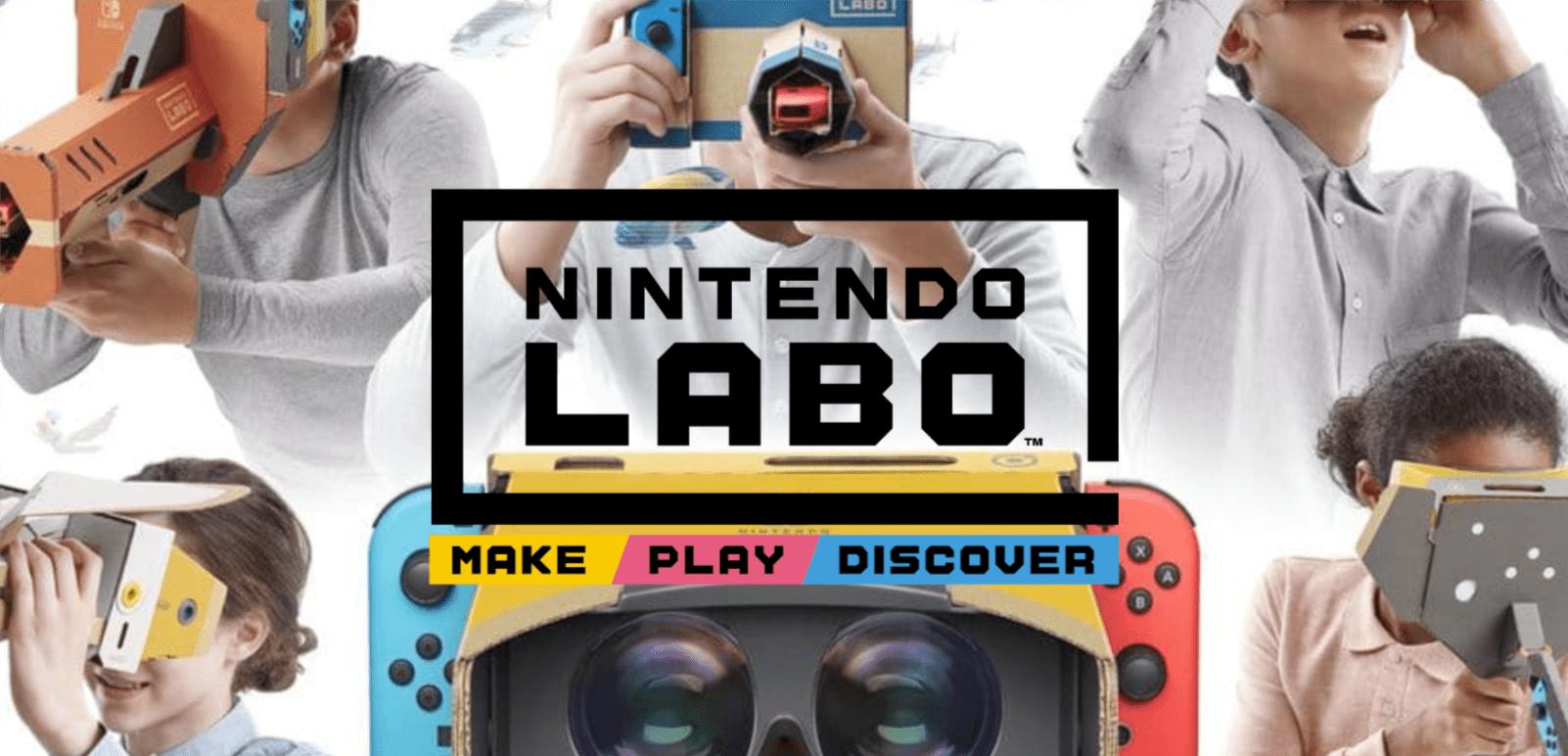 Nintendo wkracza w wirtualną rzeczywistość za sprawą Labo VR Kit. To godny konkurent Google Cardboard 17