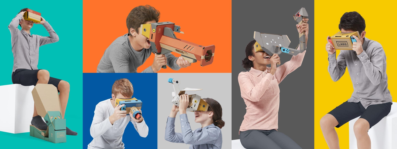 Nintendo wkracza w wirtualną rzeczywistość za sprawą Labo VR Kit. To godny konkurent Google Cardboard 19