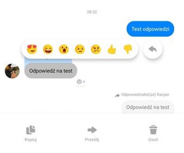Messenger wprowadza funkcję przydatną zwłaszcza w grupach - odpowiedzi na wiadomości z cytatem 18