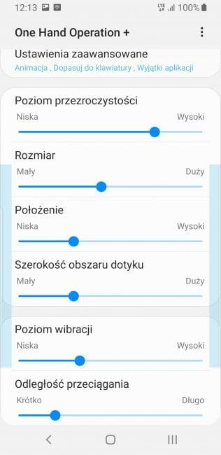 Samsung udostępnia swoją aplikację do nawigacji gestami w Google Play
