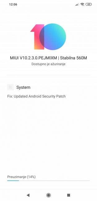 Pocophone F1 z aktualizacją MIUI i zabezpieczeniami z lutego 17