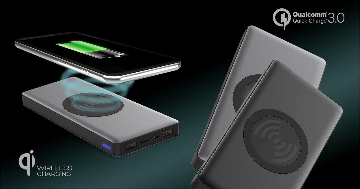 Nowy power bank Platinet PRO naładuje Twój smartfon również bezprzewodowo 28