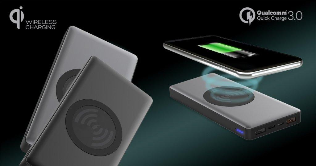 Nowy power bank Platinet PRO naładuje Twój smartfon również bezprzewodowo