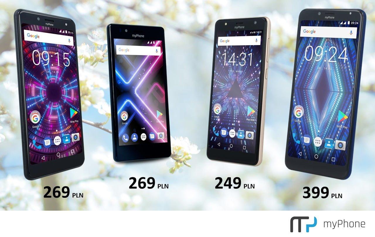 myPhone obniża ceny czterech smartfonów nawet o blisko 30% 18