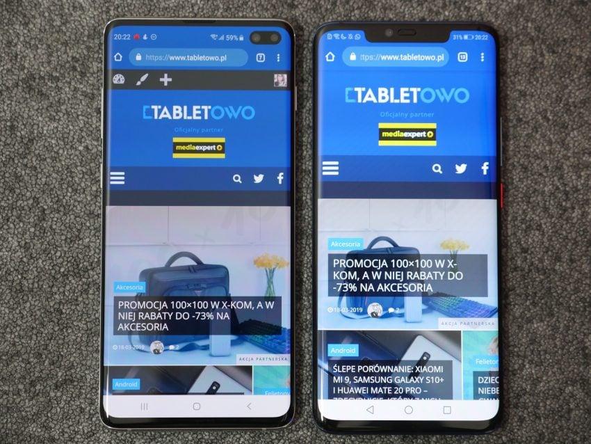 Porównanie: Huawei Mate 20 Pro vs Samsung Galaxy S10+. Który lepszy?
