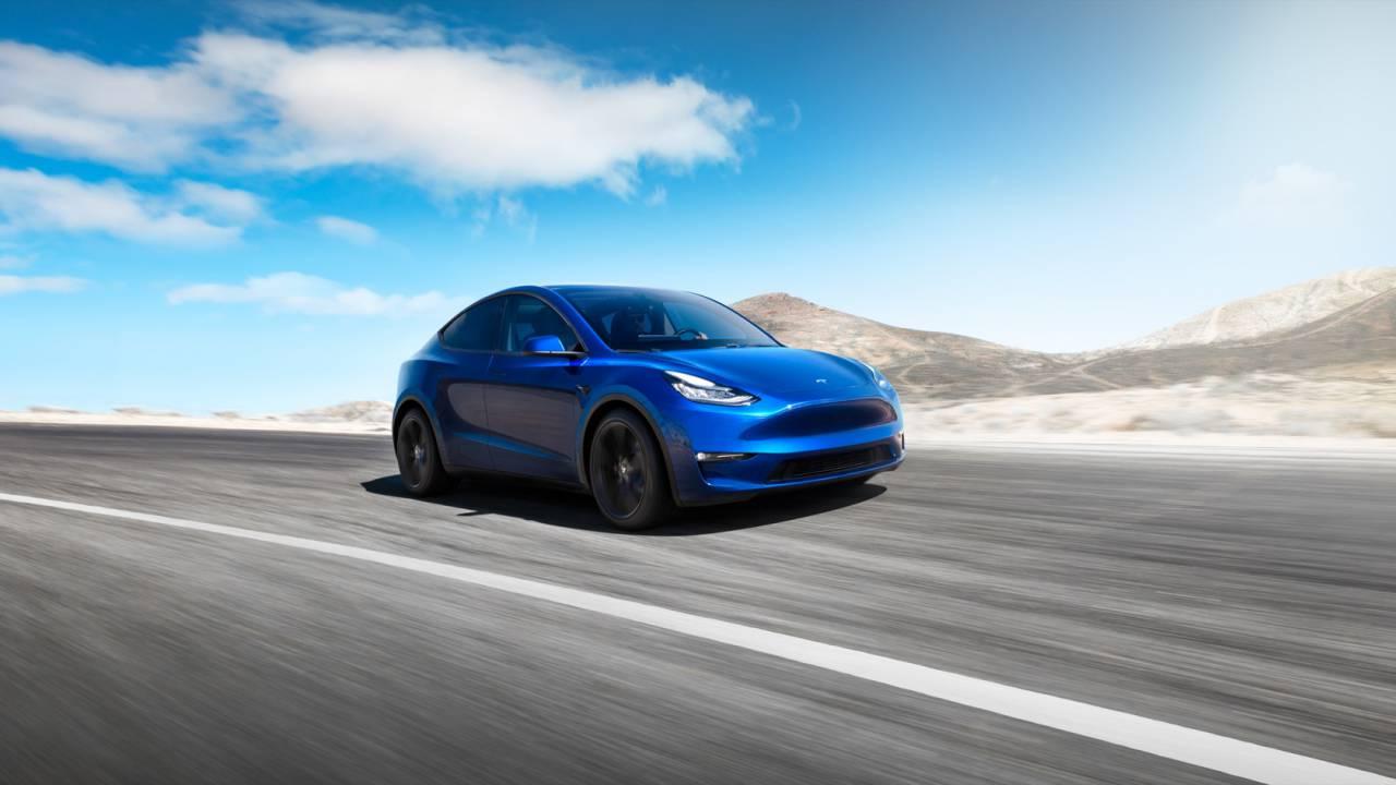 """Tabletowo.pl Tesla oficjalnie prezentuje Model Y. """"Ma funkcjonalność SUV-a, ale będzie jeździć jak samochód sportowy"""" Moto Nowości"""