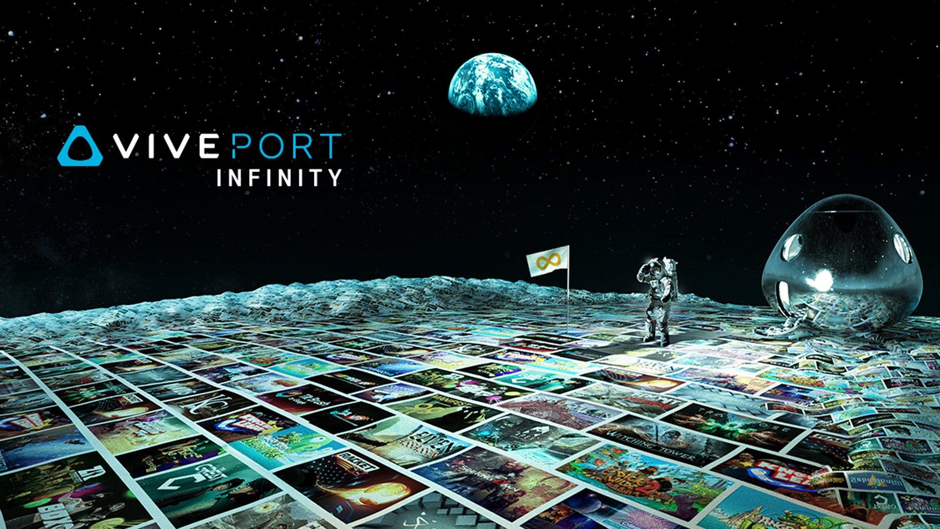 Ciekawa usługa dla właścicieli VR - Viveport Infinity od kwietnia dostępne w Polsce