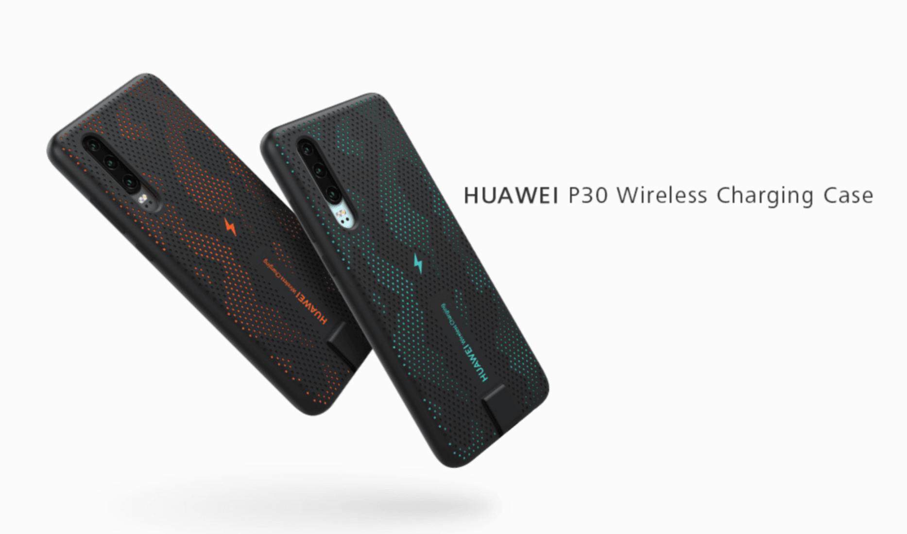 Huawei P30 nie naładujesz bezprzewodowo. Chyba, że kupisz specjalne etui