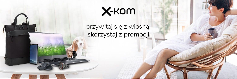 Wiosenne porządki z x-kom - 850 produktów taniej nawet o 86%