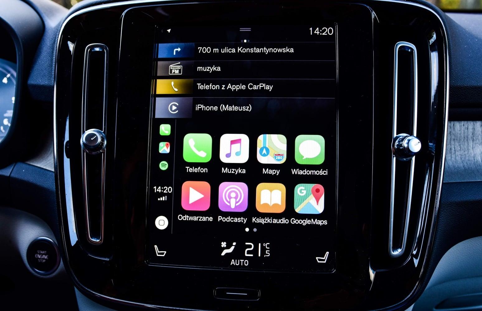 NaviExpert z długo wyczekiwaną funkcją. Nawigacja dostała obsługę Apple CarPlay 22