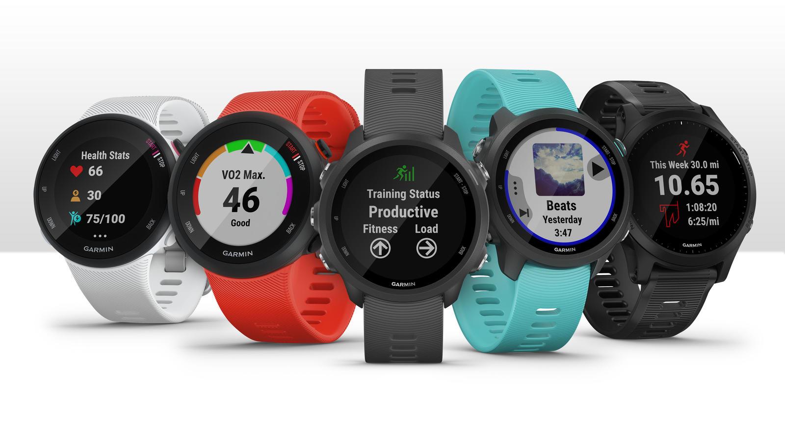 Garmin zaprezentował pięć nowych smartwatchy z serii Forerunner 22