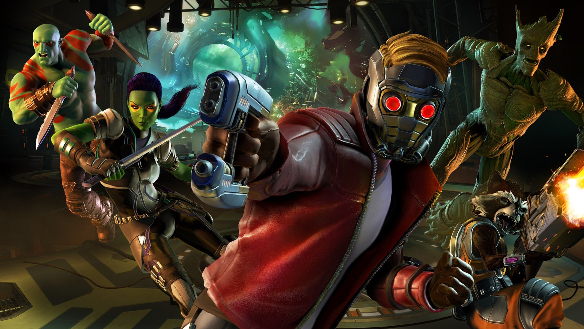 screen z gry Guardians of the Galaxy: The Telltale Series