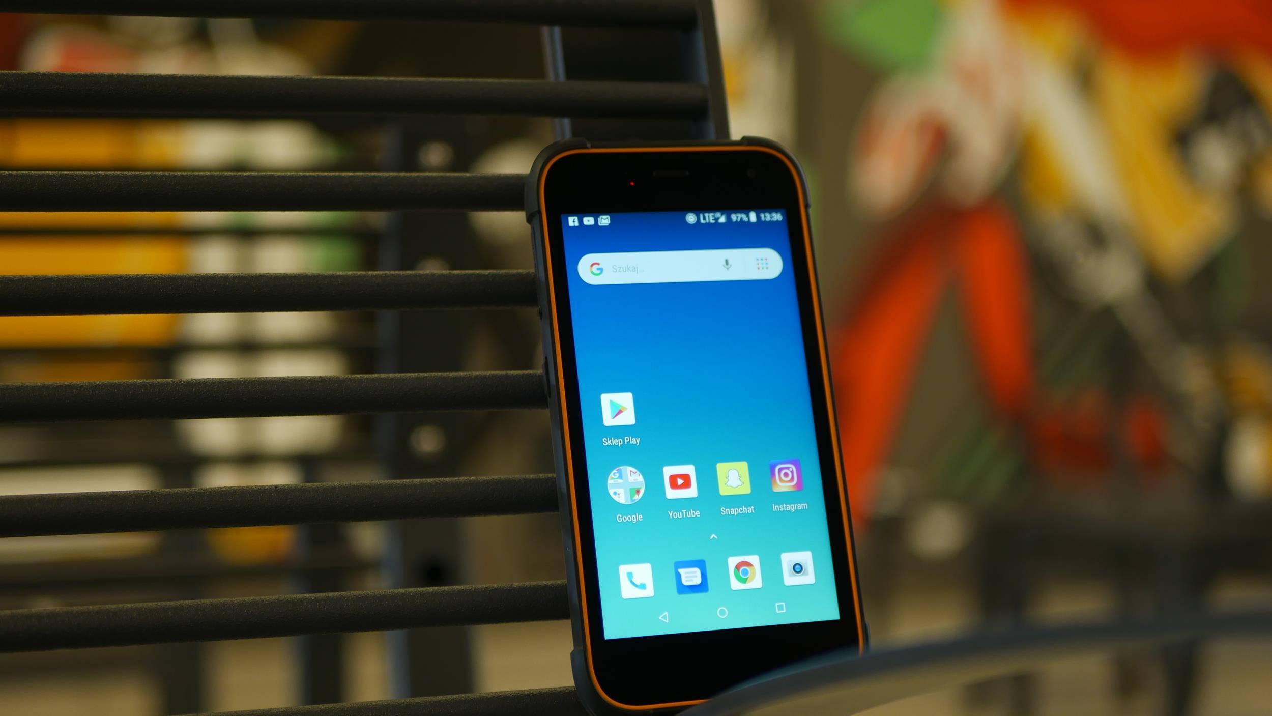 Test Hammer Active 2 LTE - smartfona z wytrzymałą obudową i Androidem Go 27