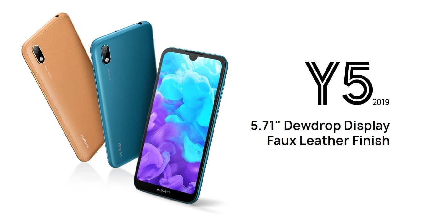 Zadebiutował budżetowy Huawei Y5 2019 z MediaTekiem A22 i skóropodobną pokrywą baterii 19