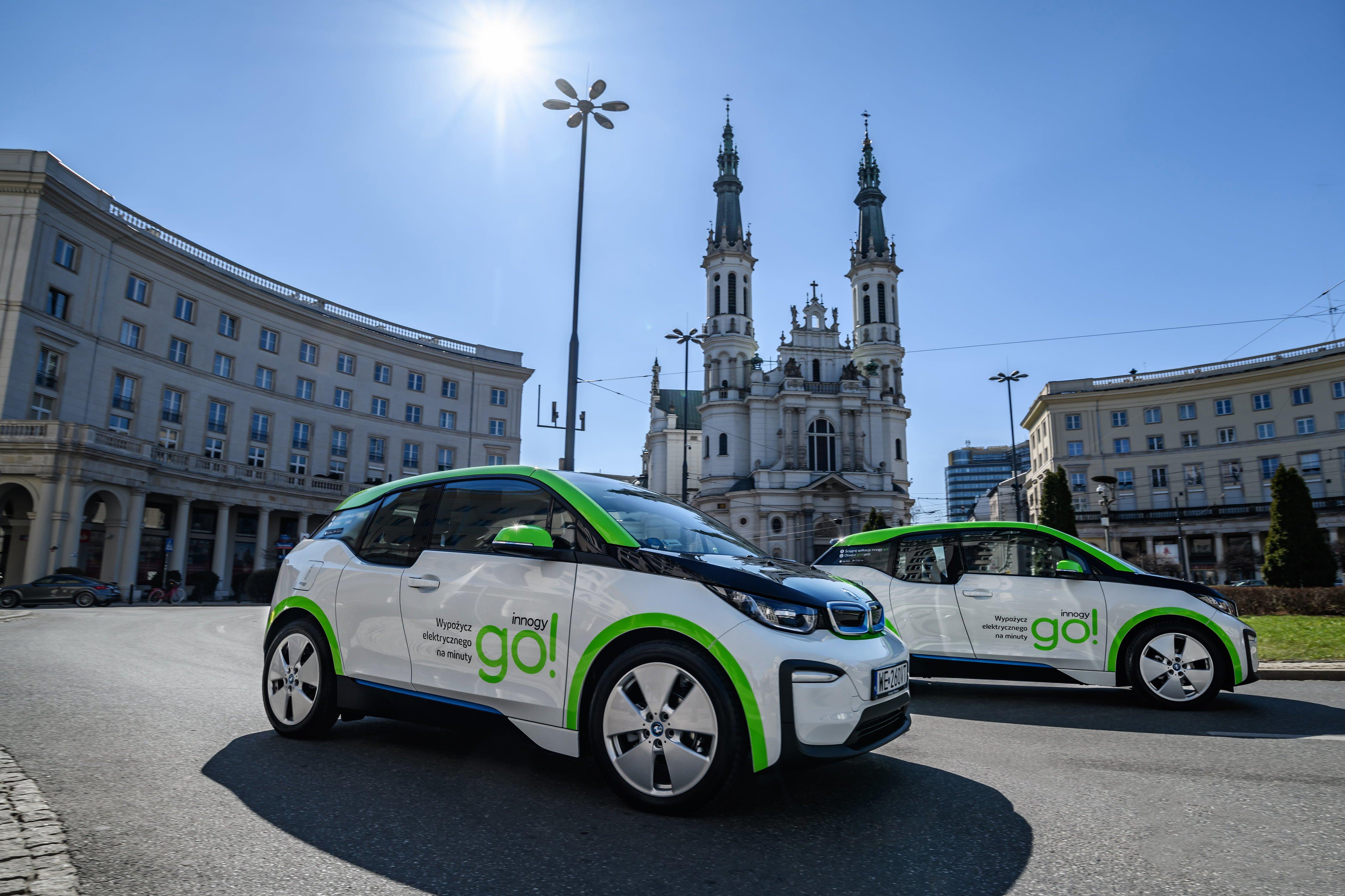 Innogy Go! - 500 elektrycznych BMW trafi na ulice Warszawy