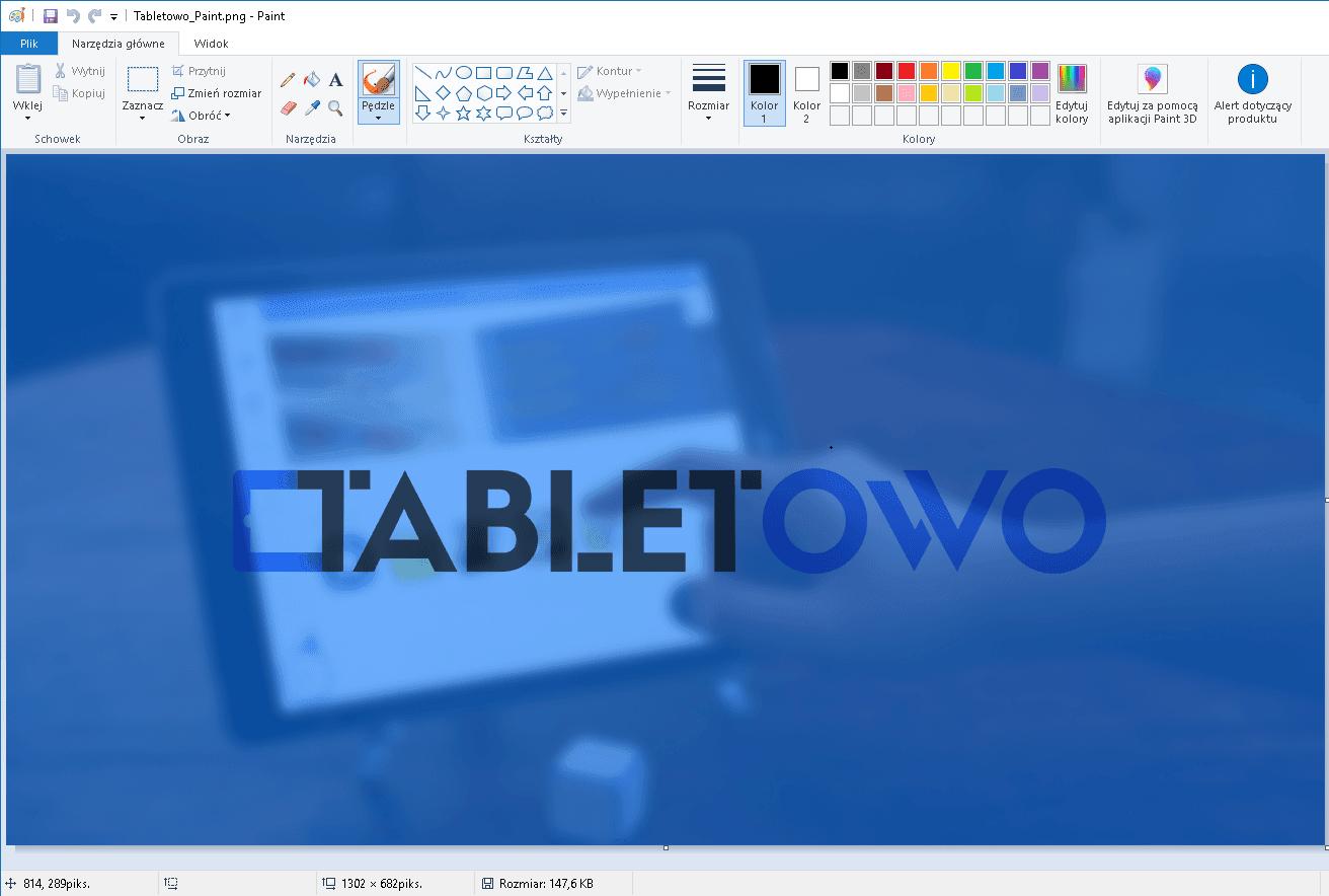 Paint zostaje w systemie Windows 10 20