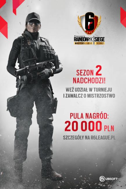 Jutro ruszają eliminacje do polskiego turnieju w Rainbow Six Siege. W puli nagród aż 20 tysięcy złotych