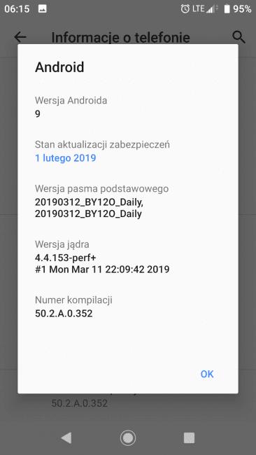 Android Pie dostępny dla Sony Xperia XA2 - także w Polsce!