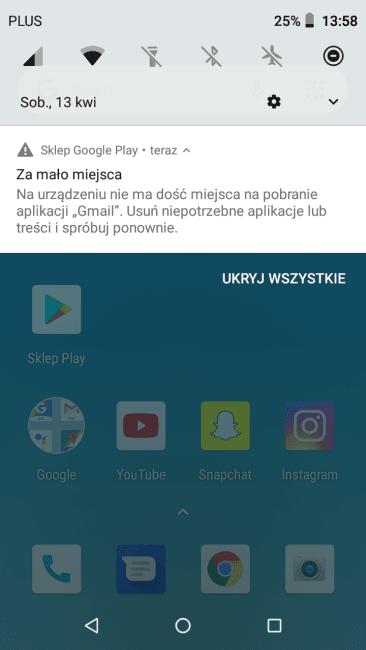 Test Hammer Active 2 LTE - smartfona z wytrzymałą obudową i Androidem Go 34