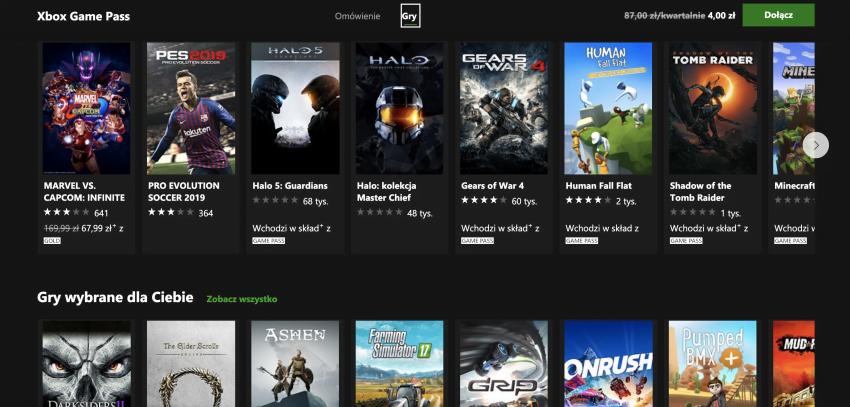 Xbox Game Pass w naprawdę świetnej promocji. Trzy miesiące za 4 zł!