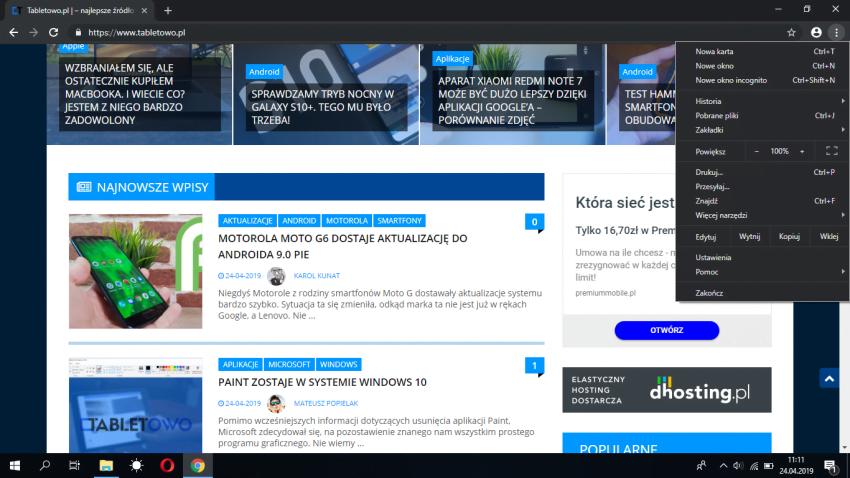 Chrome 74 z ciemnym motywem już na Windows 10. Jak go włączyć? 19