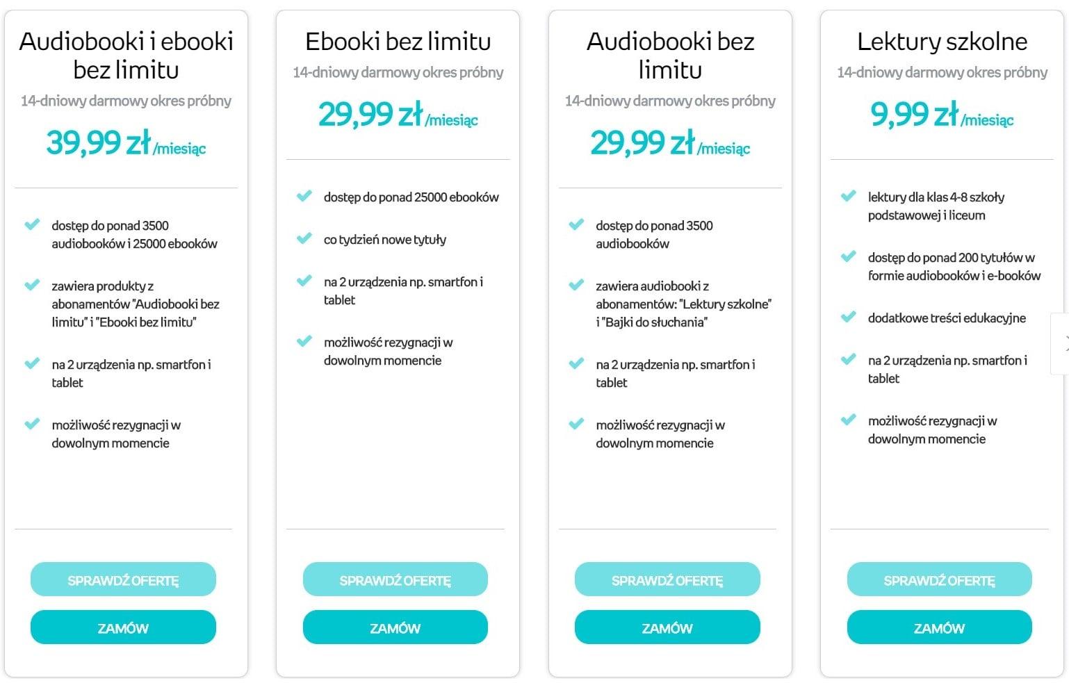 Nowe abonamenty w Empik Go: e-booki wraz z audiobookami bez limitu