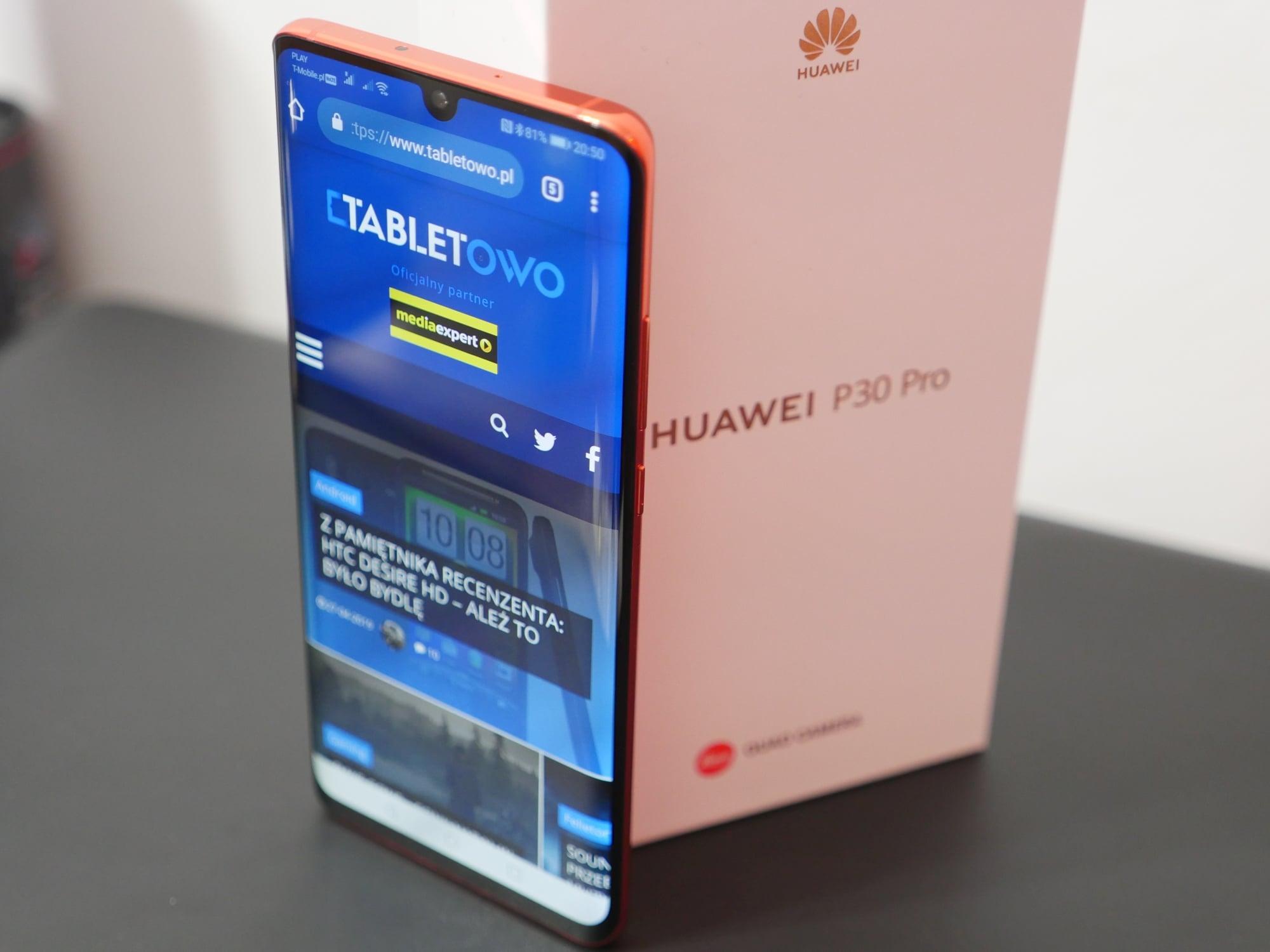 Huawei udostępnia Androida 10 dla flagowych smartfonów z serii Mate 20 oraz P30