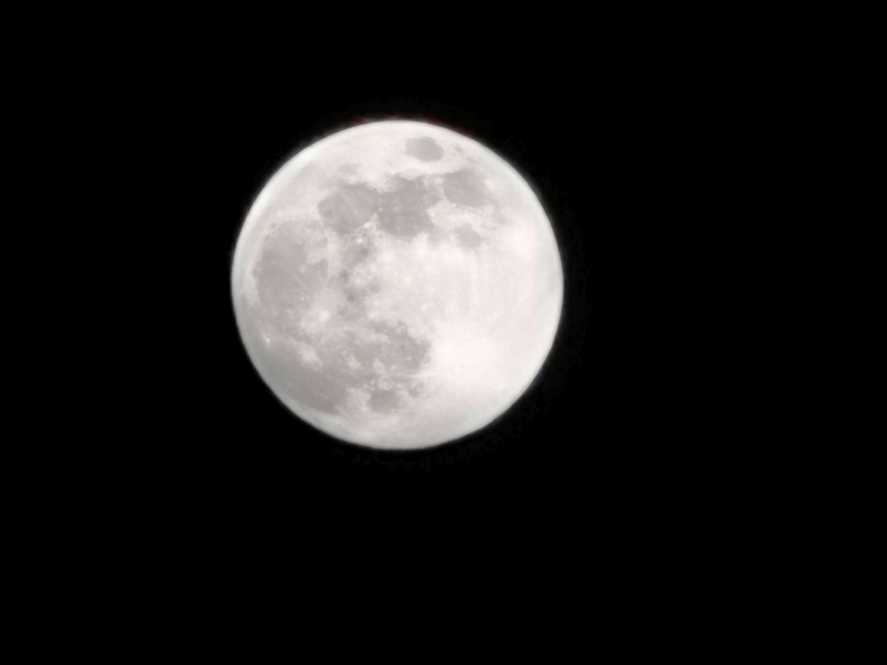 Huawei P30 Pro księżyc zdjęcie