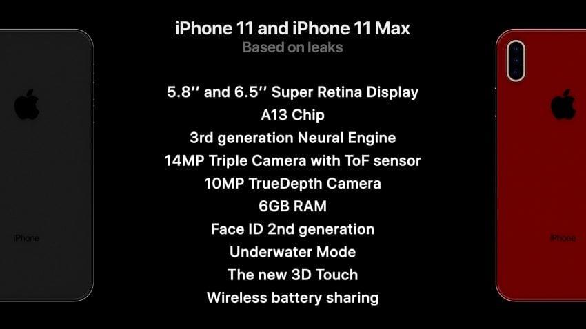 iPhone 11 i ciemny motyw w iOS 13. Oto koncept pokazujący, jak Apple mógłby projektować smartfony 17