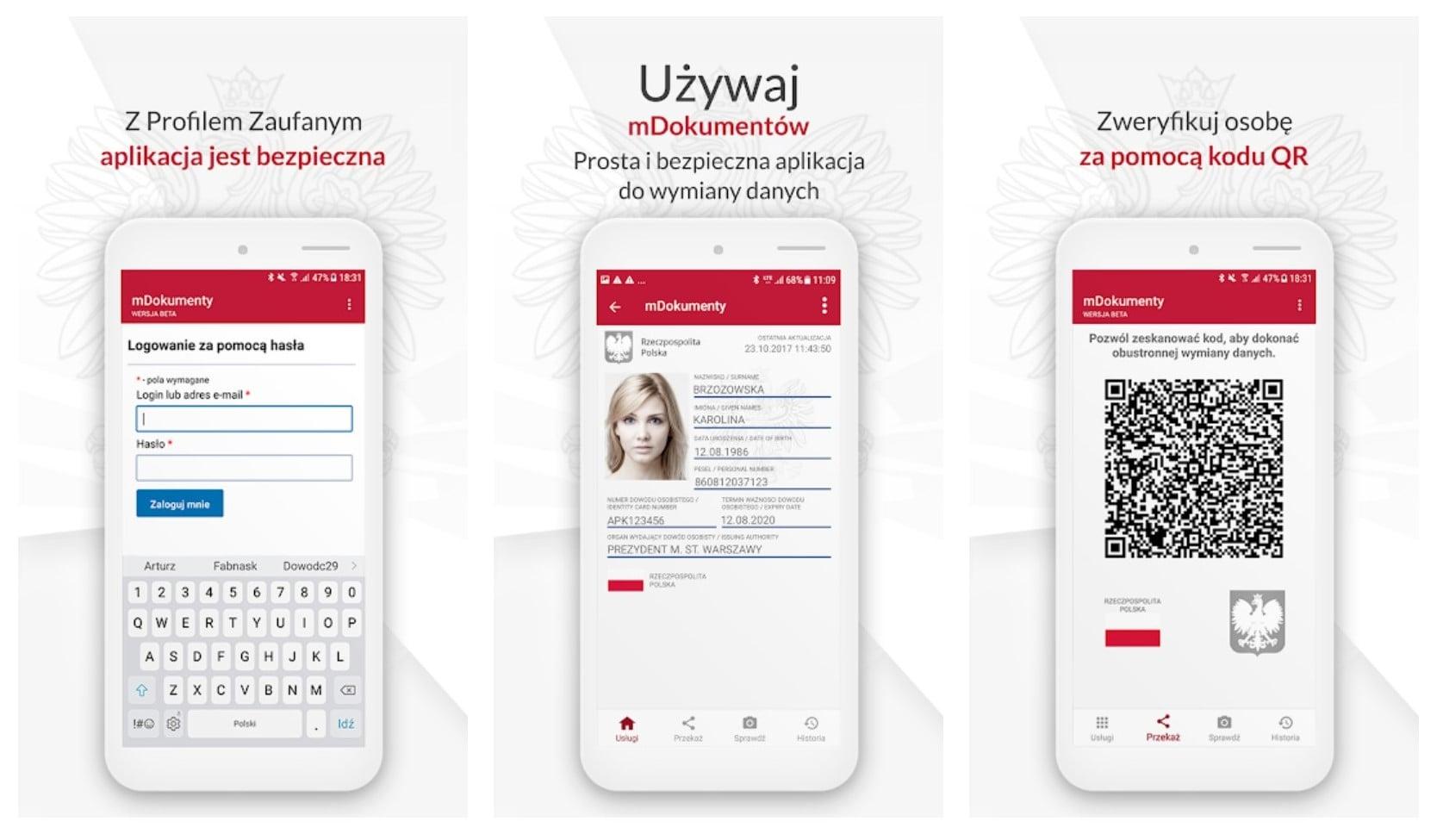 Na pocztę bez dowodu osobistego - wystarczy aplikacja mObywatel w telefonie 18