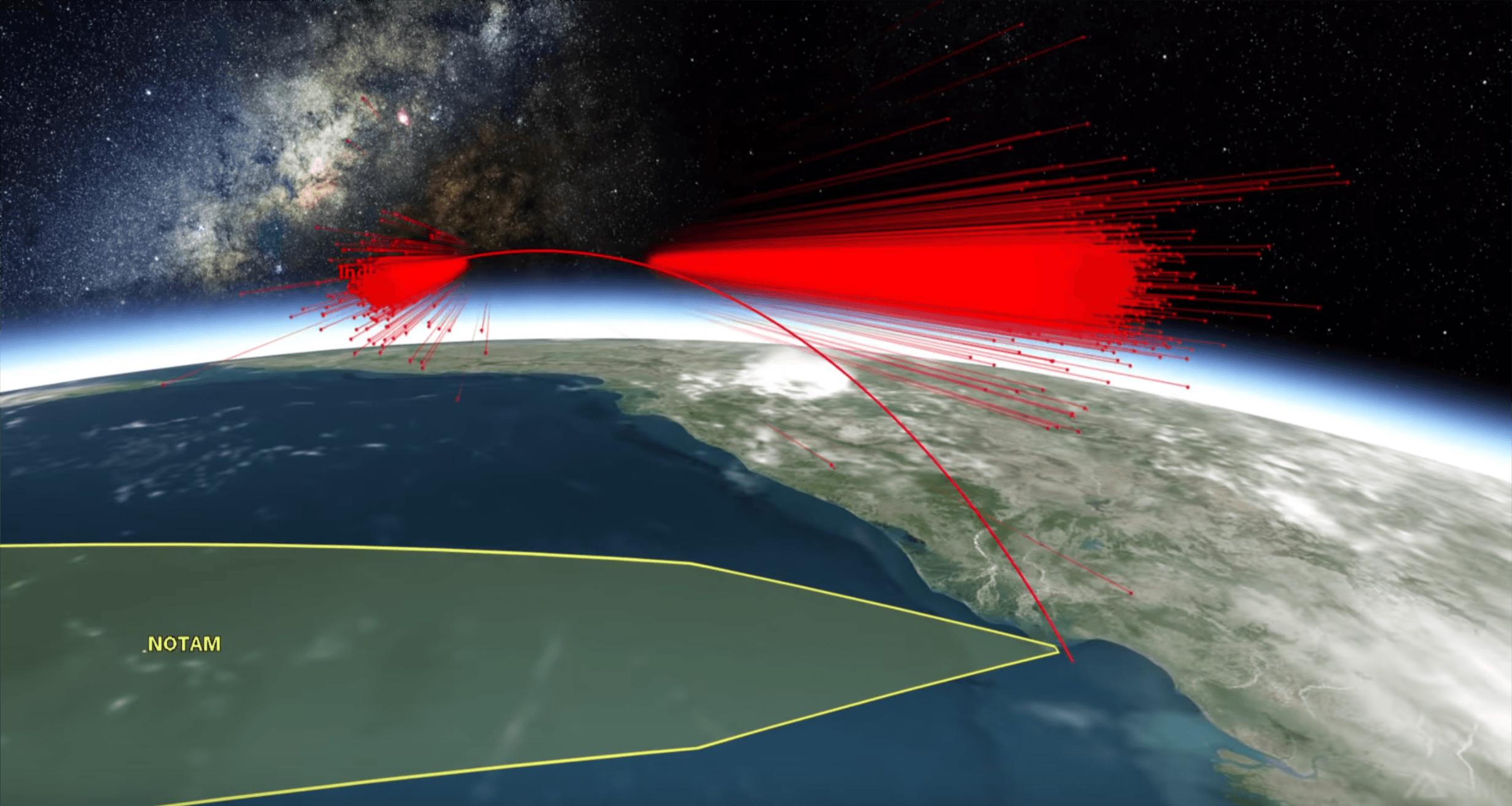 Kosmiczny złom powstały po zestrzeleniu indyjskiego satelity stanowi zagrożenie dla ISS 19