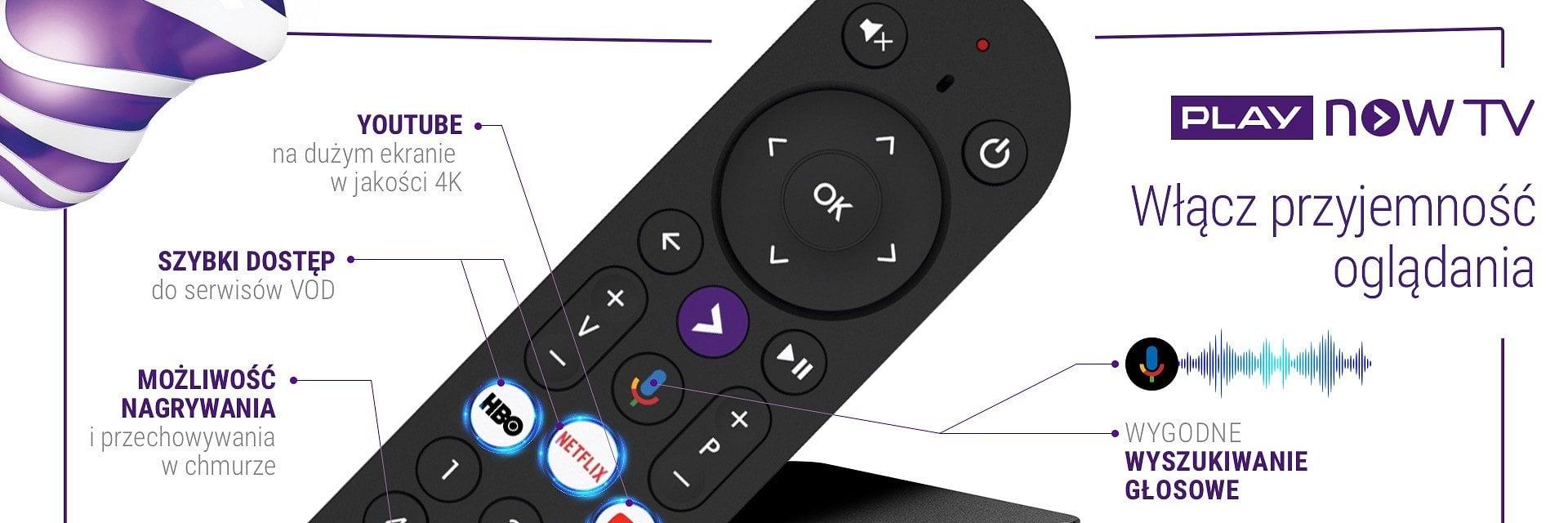 Telewizja Play Now TV rusza oficjalnie. Zapewnia obsługę VoD i tradycyjnej telewizji z jednego miejsca