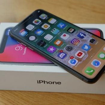 smartfon iPhone X smartphone