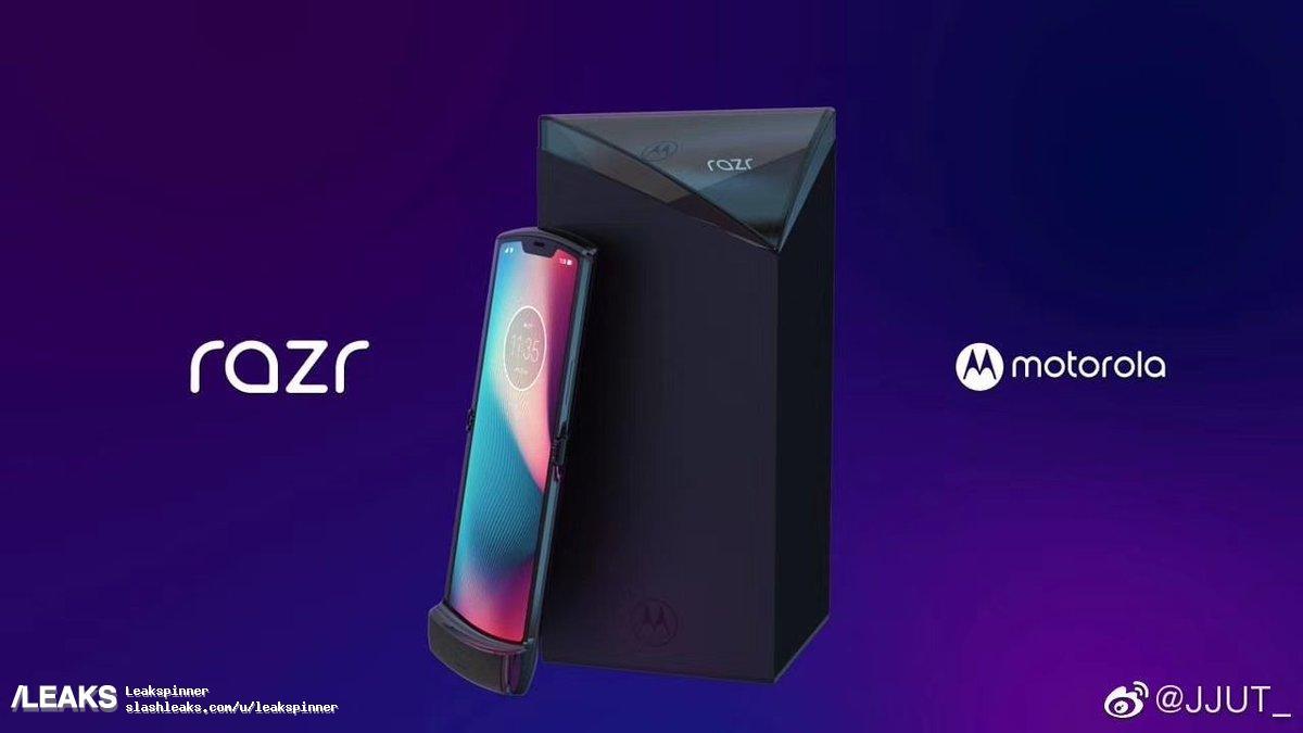Tak ma wyglądać składana Motorola RAZR - legenda powróci!