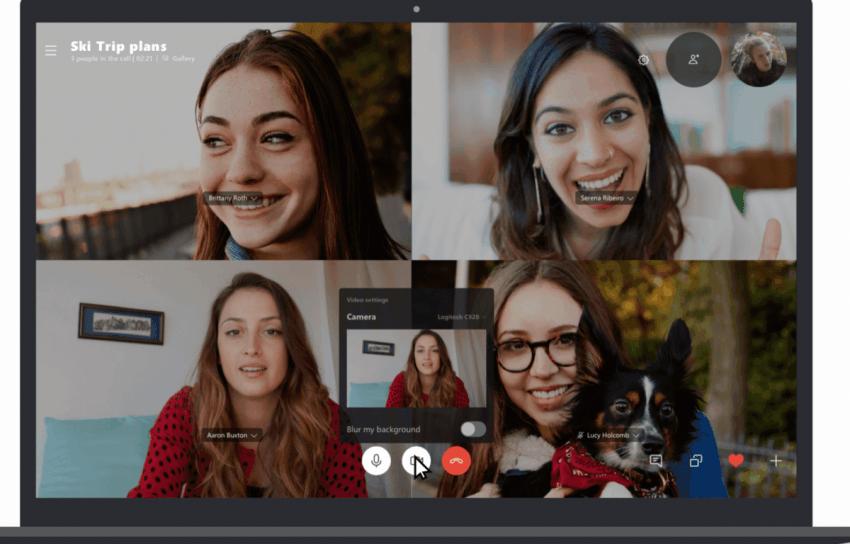 Nowość w Skype: grupowe wideo z 50 osobami jednocześnie