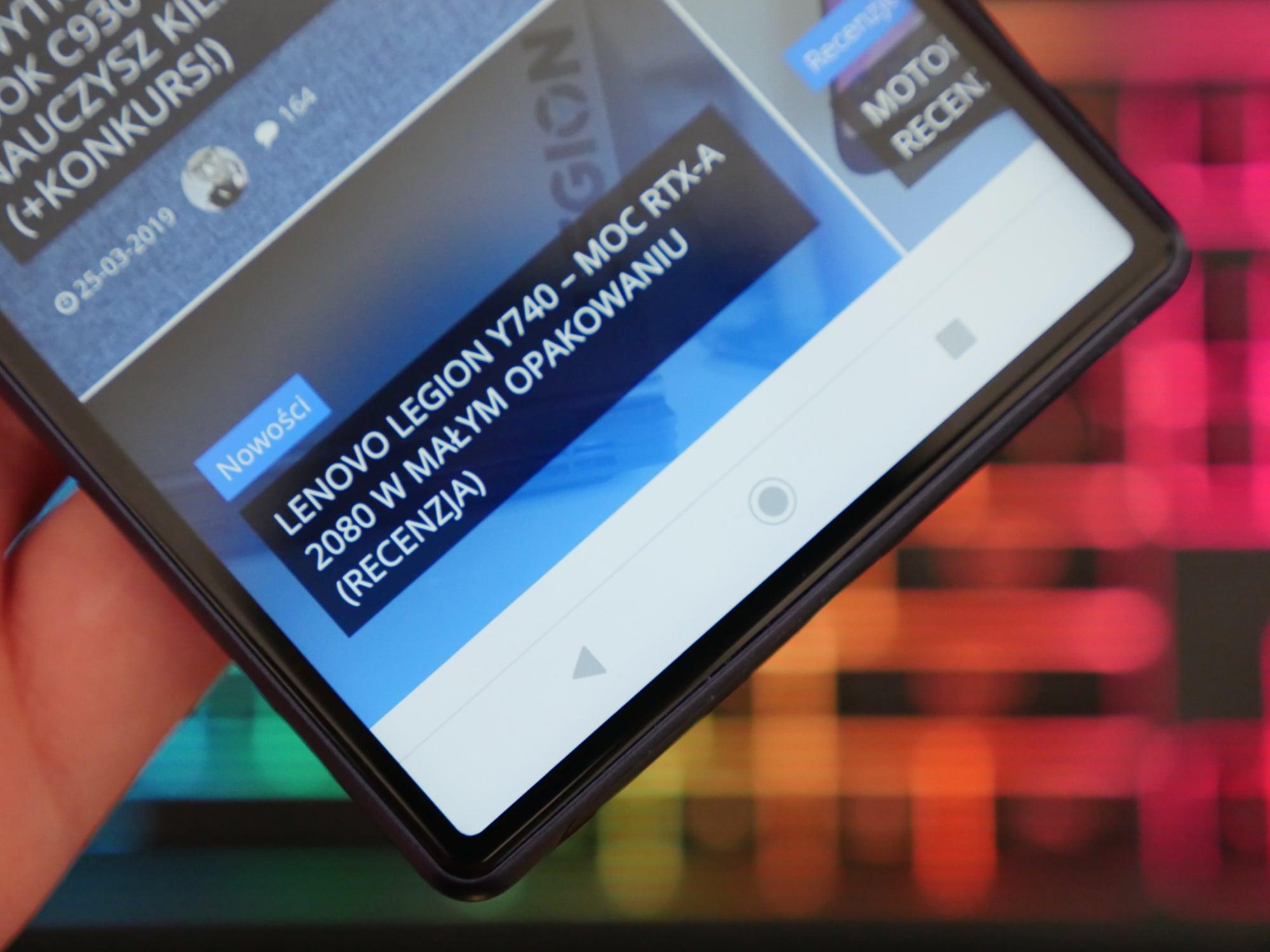 Sony Xperia 10 Plus - intrygujący i ciekawy smartfon z ekranem 21:9 dla pożeraczy multimediów (recenzja) 17