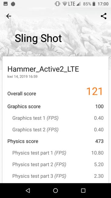 Test Hammer Active 2 LTE - smartfona z wytrzymałą obudową i Androidem Go 40