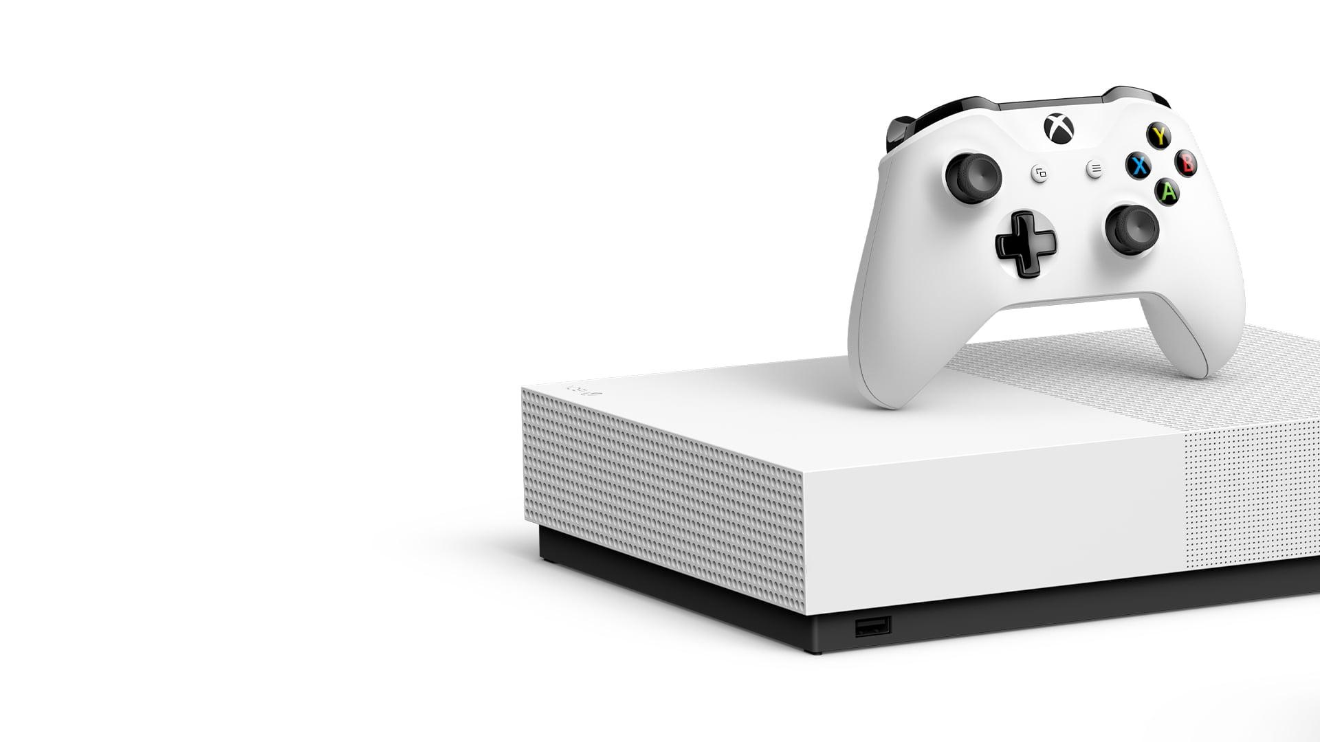 Microsoft pokazał nową wersję Xboksa One S... bez napędu. Wszystko dla fanów cyfrowej dystrybucji. Serio?