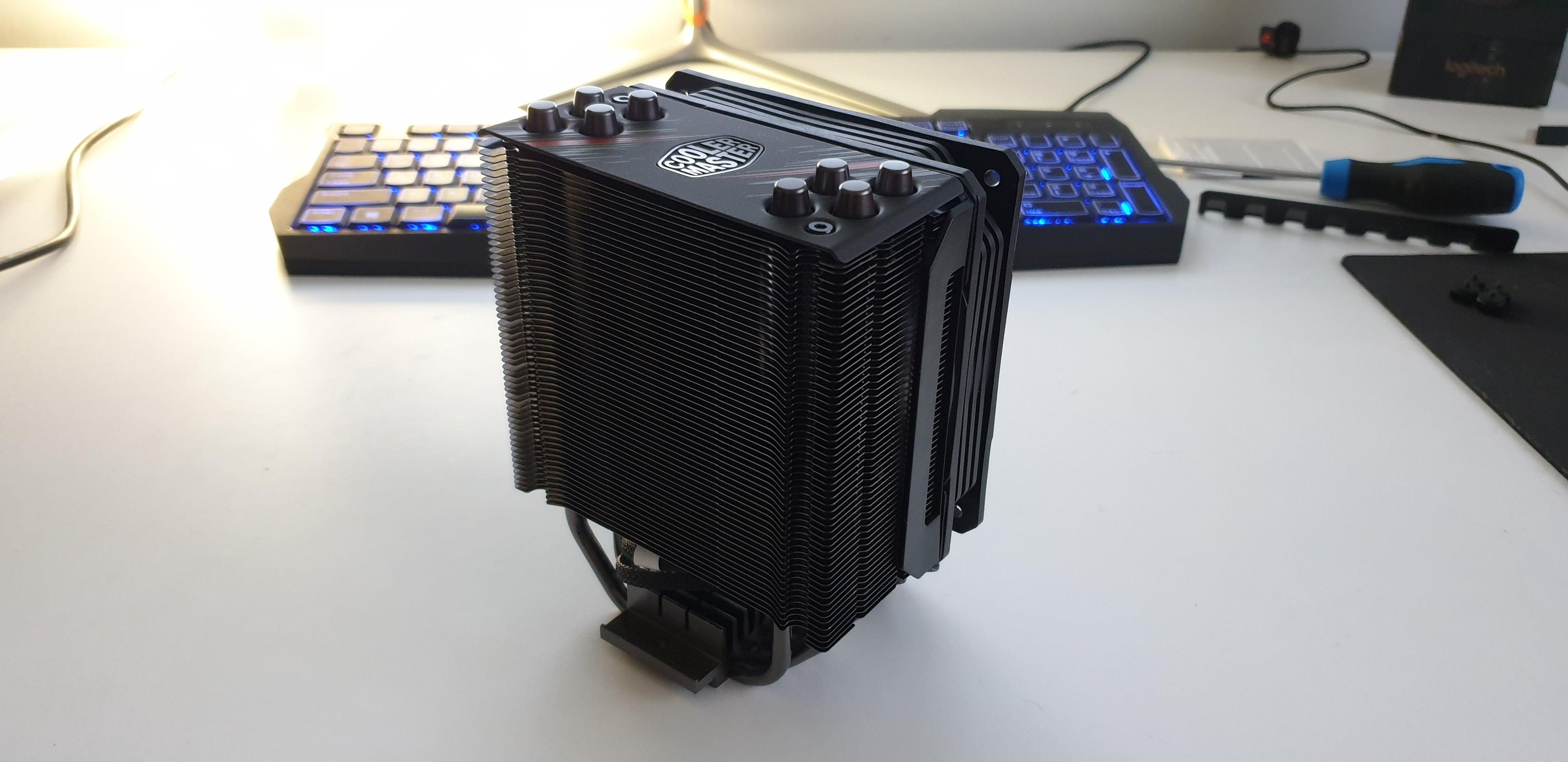 Testujemy cooler dla CPU - Cooler Master Hyper 212 RGB Phantom Gaming Edition. Warto? 28