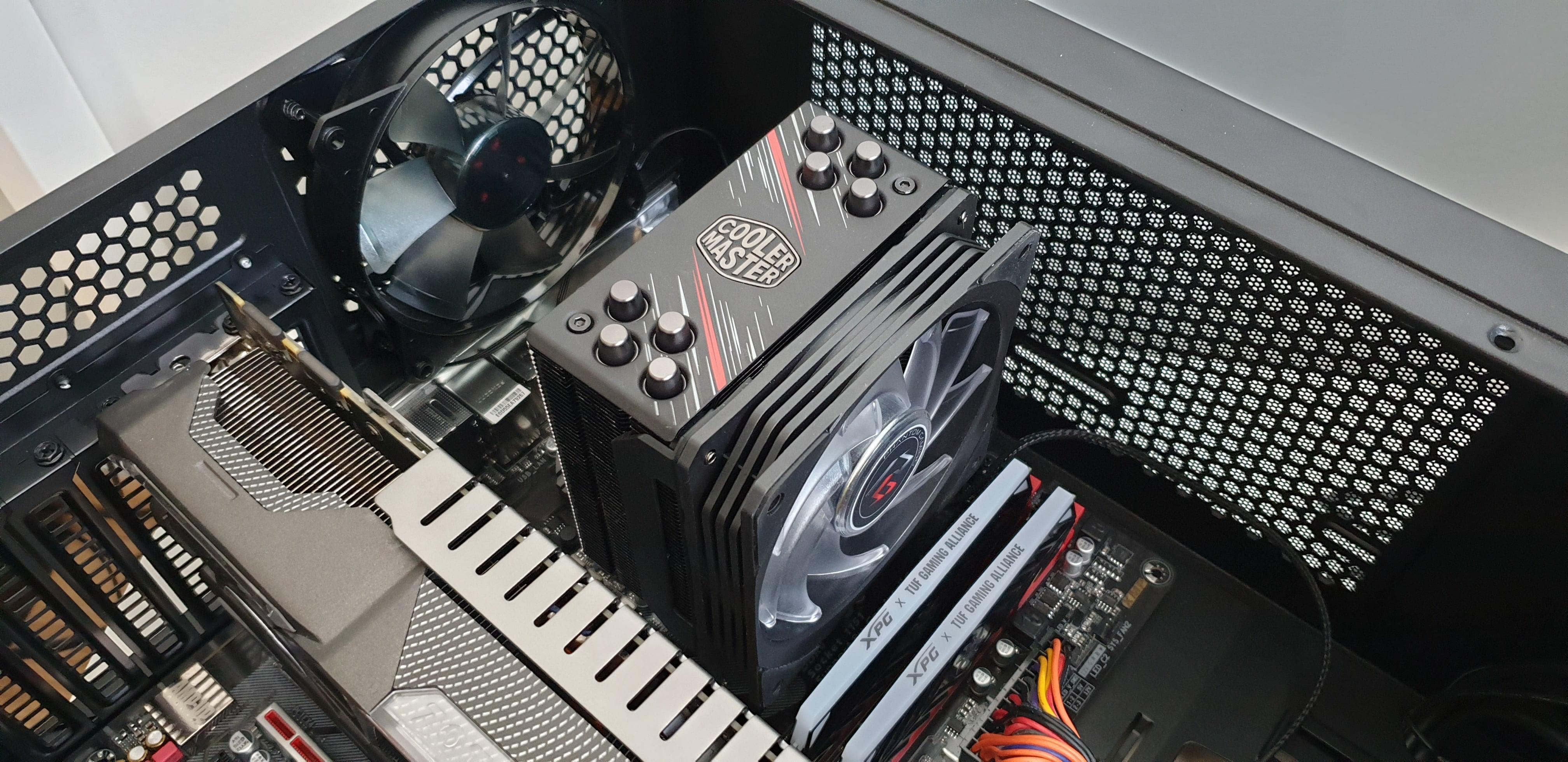 Testujemy cooler dla CPU - Cooler Master Hyper 212 RGB Phantom Gaming Edition. Warto? 39