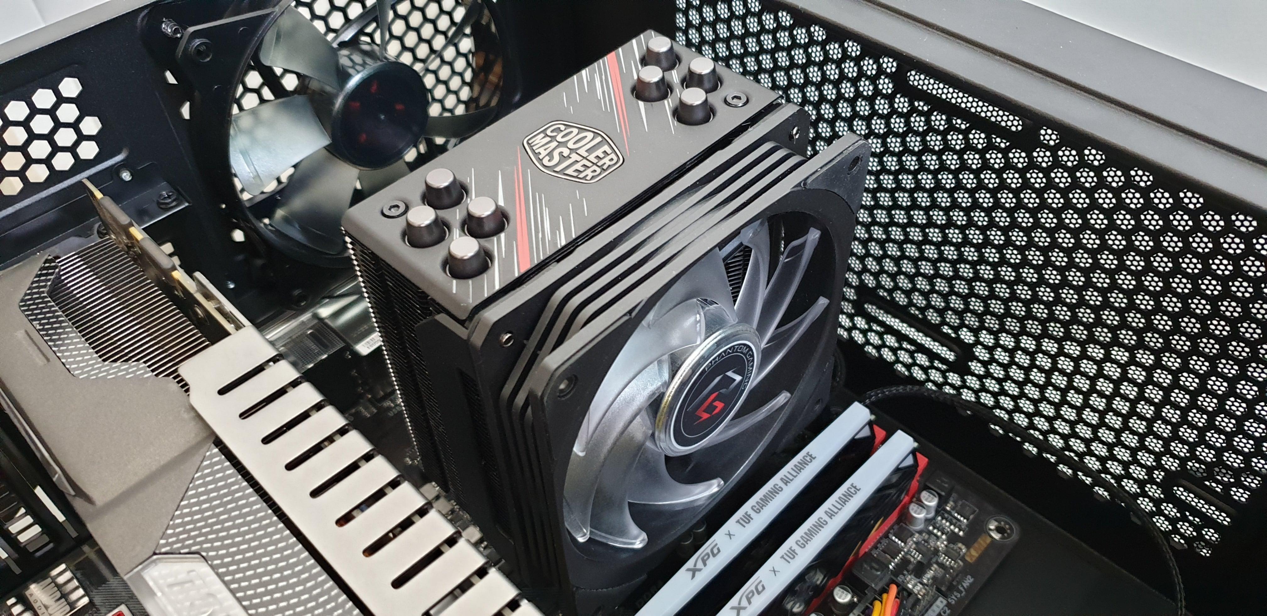 Testujemy cooler dla CPU - Cooler Master Hyper 212 RGB Phantom Gaming Edition. Warto? 40