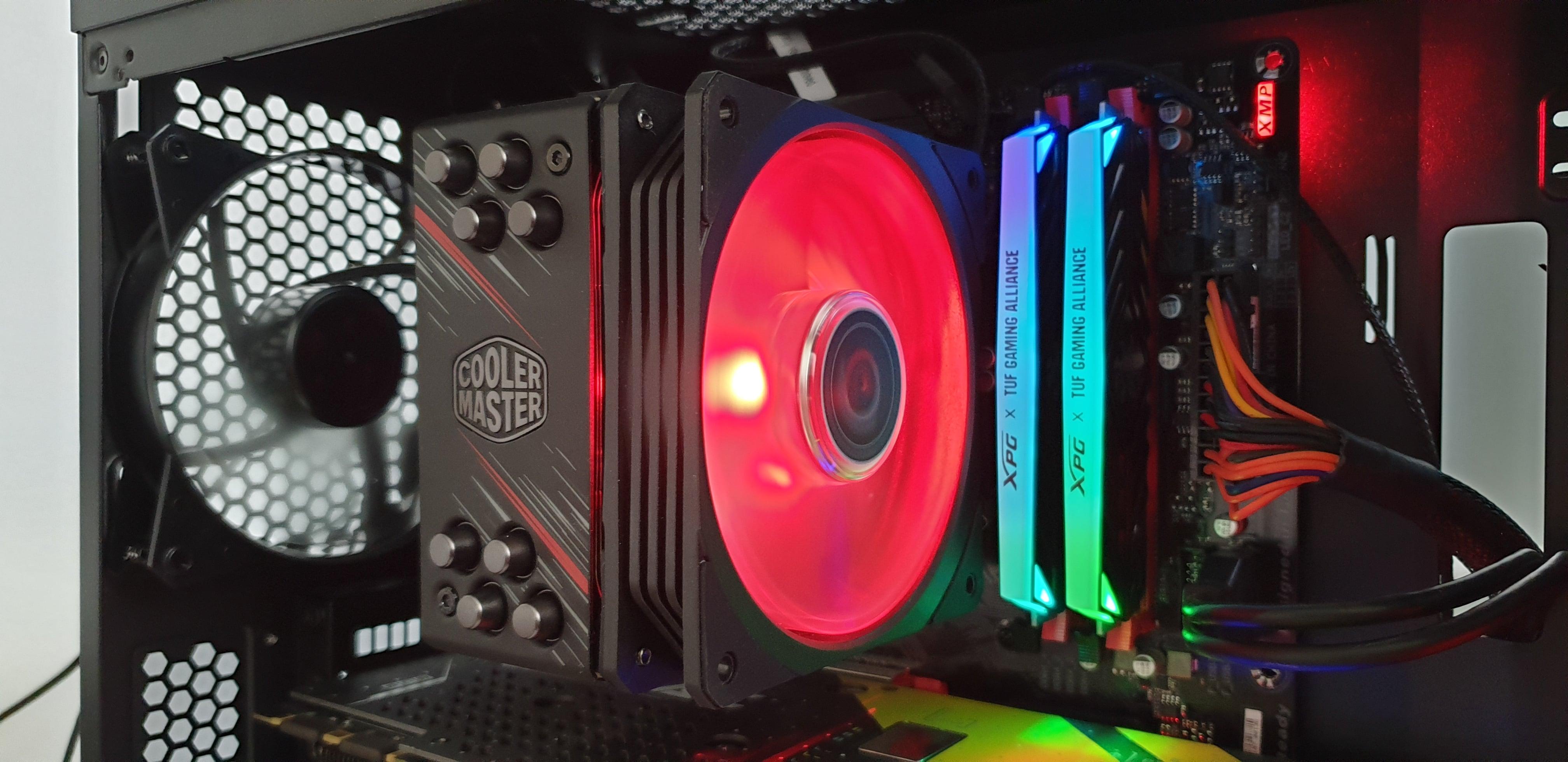 Testujemy cooler dla CPU - Cooler Master Hyper 212 RGB Phantom Gaming Edition. Warto? 41