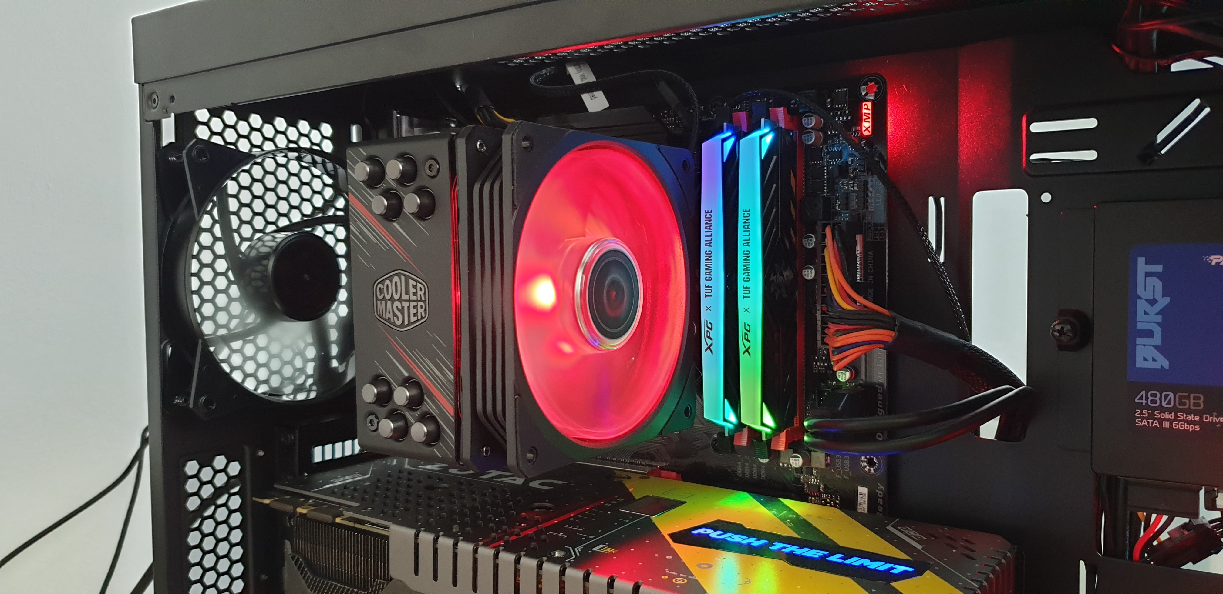 Testujemy cooler dla CPU - Cooler Master Hyper 212 RGB Phantom Gaming Edition. Warto? 42
