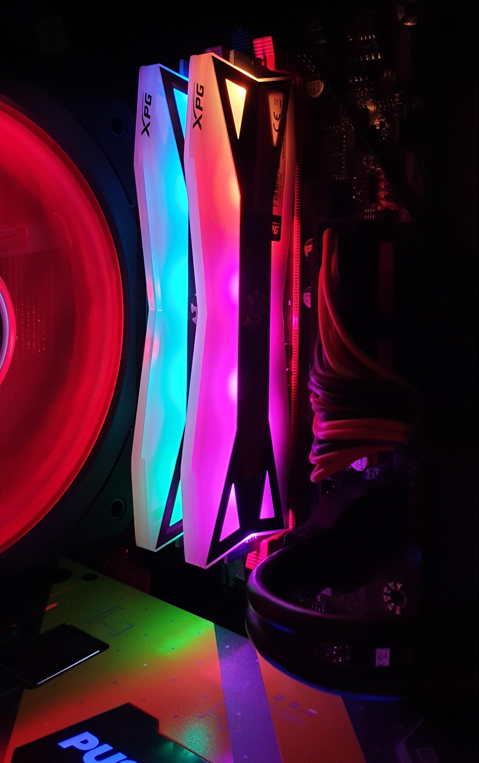 ADATA XPG Spectrix D60G - recenzja RGB z wydajnym RAM-em w komplecie 37