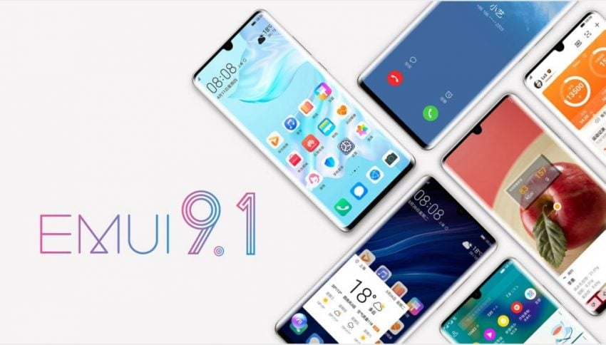 interfejs EMUI 9.1