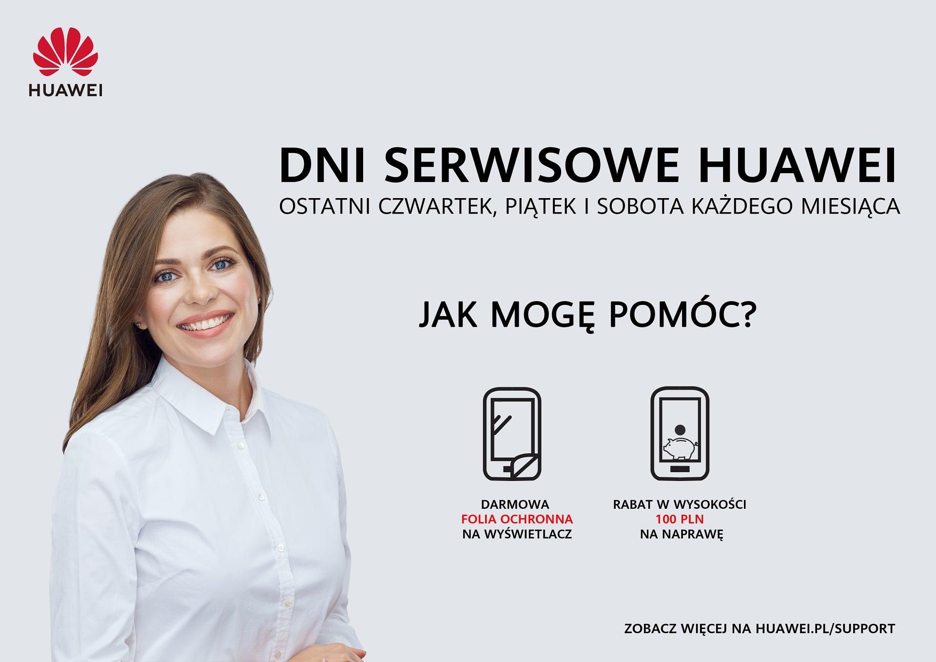 Masz problem ze swoim smartfonem Huawei? Teraz naprawisz go taniej i dostaniesz prezent
